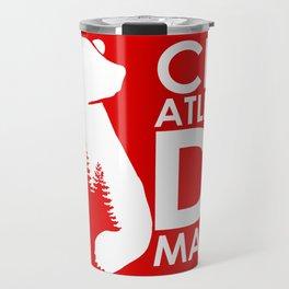 Slogan: A. Madrid Travel Mug