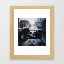 JarVis-à-vis Framed Art Print