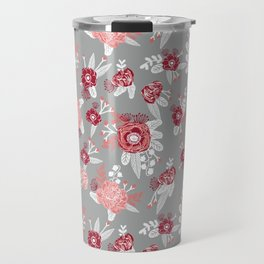 Floral Bama alabama crimson tide gifts for university of alabama students and alumni Travel Mug