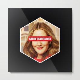 Santa Clarita diet Metal Print