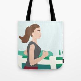 Fresh Air Runner Tote Bag
