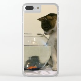 Lucy in the Sky Clear iPhone Case