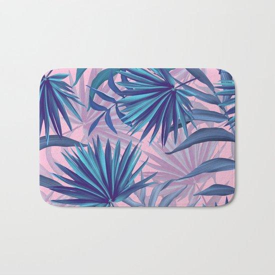 pink tropic  Bath Mat