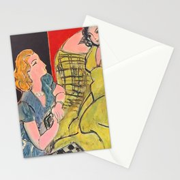 Girl Friend by  Henri Matisse  Stationery Cards