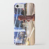 the lights iPhone & iPod Cases featuring Lights by Justin Forster Photo
