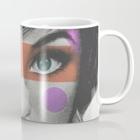 makeup Mugs featuring Makeup by Zeke Tucker