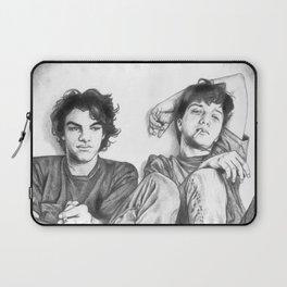 Gene & Dean Ween Graphite Drawing Laptop Sleeve