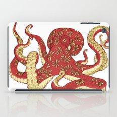 Flowered Octopus iPad Case