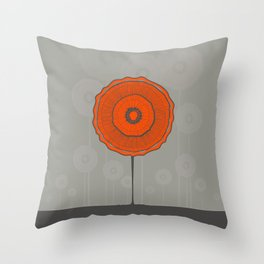 Poppies Poppies Poppies Throw Pillow