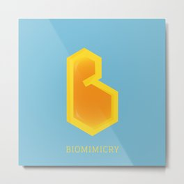 Biomimicry Metal Print