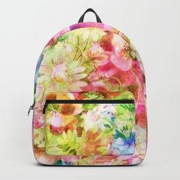 tendres fleurs des champs Backpack