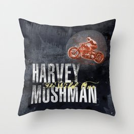HARVEY MUSHMAN Throw Pillow