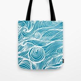Rough sea (our earth) Tote Bag