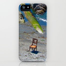 A place to sit iPhone Case