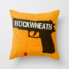 Buckwheats Throw Pillow