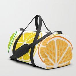 Citrus fruit slices Duffle Bag