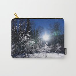 Icy Forest  Carry-All Pouch