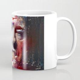 Tony Soprano Glitch Coffee Mug