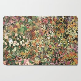 Flowers and Funk Cutting Board