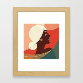 Venn Deco (Part II) Framed Art Print