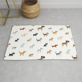 Lots of Cute Doggos Rug