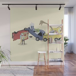 BandNames : Dinosaur Pile-Up Wall Mural