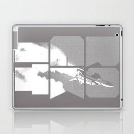 ROCKIT (White on Grey) Laptop & iPad Skin