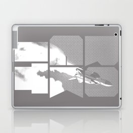 ROCKIT (White on Grey) Laptop & iPad Skin