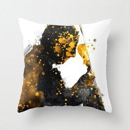 Violinist music art #Violinist Throw Pillow