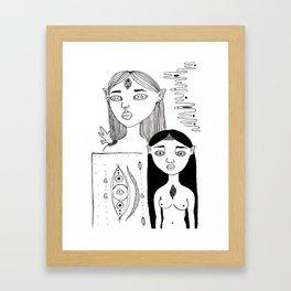 Elf Girls #1 Framed Art Print
