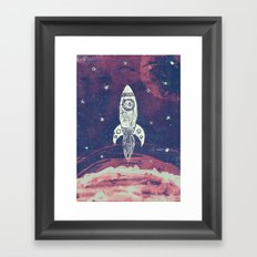 Space Adventure Framed Art Print