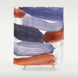 abstract painting XV Shower Curtain
