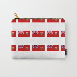 Flag of manitoba -Manitoban,rupert,Winnipeg,Brandon,Steinbach,portage,canada. Carry-All Pouch