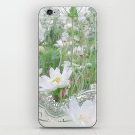 Framed Windflower iPhone Skin