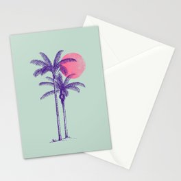 noche tropical Stationery Cards
