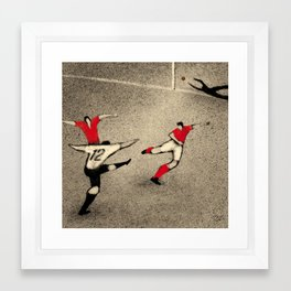 History of FIFA World Cup - Germany 1954 Framed Art Print