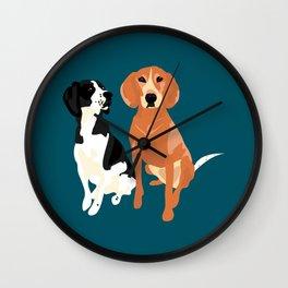 Sorella and April Mae Wall Clock
