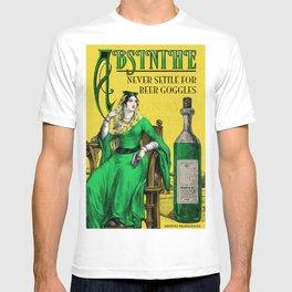 Absinthe Vintage Poster T-shirt