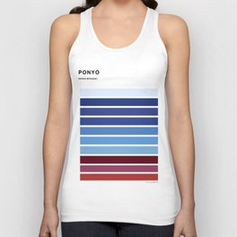 The colors of - Ponyo Unisex Tank Top