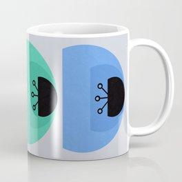 Magic Geometric Flowers Coffee Mug