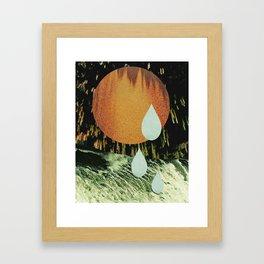 CRYIN' OVER YOU Framed Art Print
