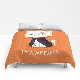 I'm a Vampurrr Comforters