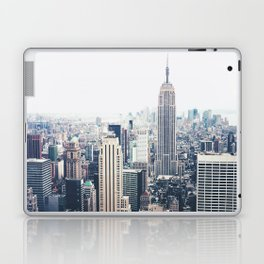 New York City and the Empire State Building Laptop & iPad Skin