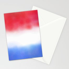 Flag of Netherlands 3 - with cloudy colors Stationery Cards