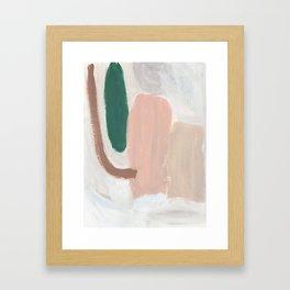 Persimmon Pie Framed Art Print