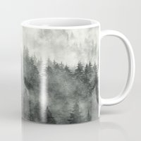 rain Mugs featuring Everyday by Tordis Kayma
