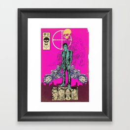 THE MAN FROM OSAKA Framed Art Print