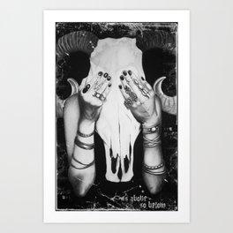 As Above, So Below Art Print