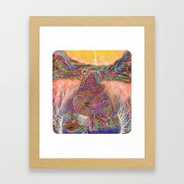 Amphibious Psychedelia Framed Art Print