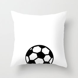 Soccer Practice Like a Champion Act Like a Champion Throw Pillow